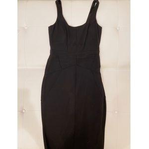 ELISABETTA FRANCHI Black Knee Length Dress Sz 44